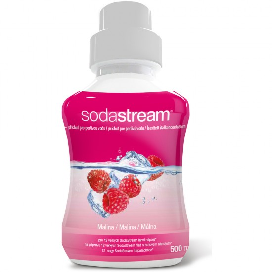 Sirup malina 500 ml SODASTREAM