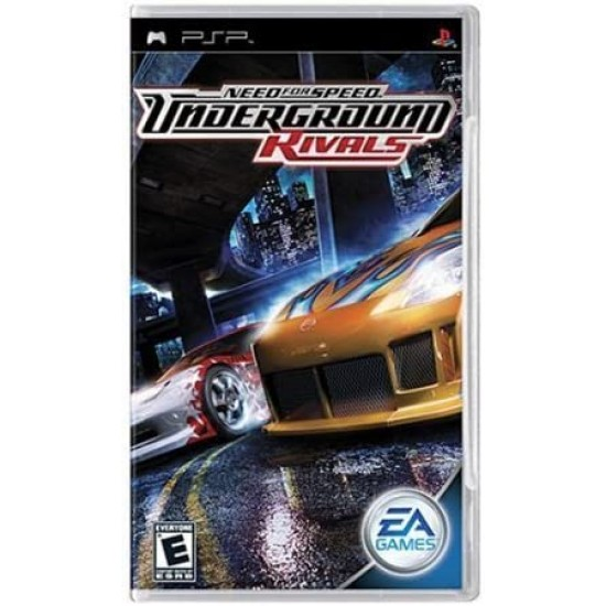 PSP NFS Need For Speed Underground: Rivals