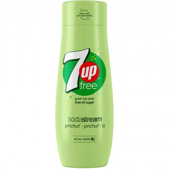Sirup 7up free 440 ml SODASTREAM