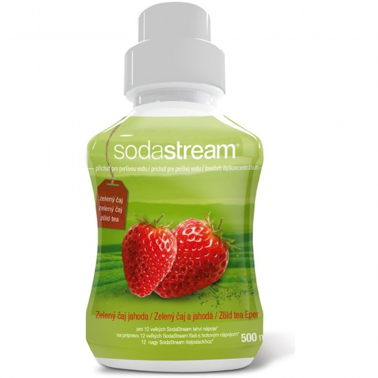 Sirup zelený čaj/jahoda 500ml SODASTREAM