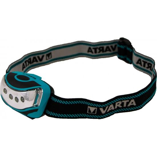 Varta 4x LED Outdoor Sports Head Light 3AAA 16630