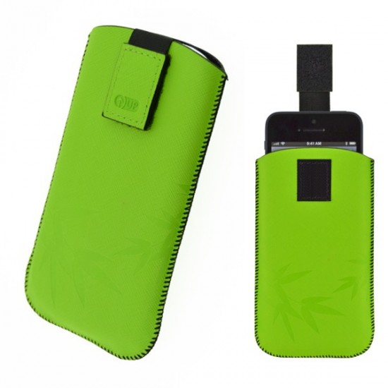 4-OK CASE UP COLORS, GREEN, IPHONE 5 (124 x 59 x 8 mm)