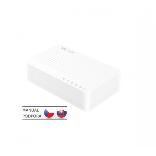TENDA S105 5x10/100 Mini Eco Switch, Desktop