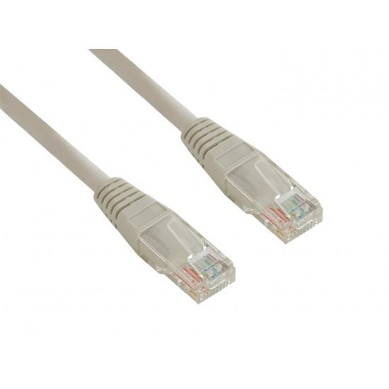 4World Patch kabel RJ45 Cat5e UTP 7.5m Gray