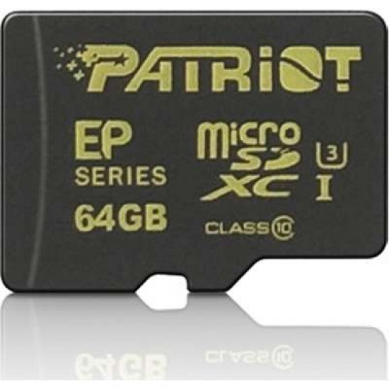 PATRIOT 64GB microSDXC CL10 UHS-I 90/45
