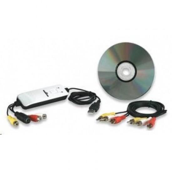 MANHATTAN Hi-Speed USB Audio/Video Grabber, střihová (zachytávací) karta 162579
