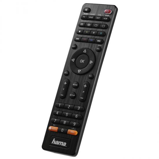 Hama univerzálny diaľkový ovládač 8v1, smart TV 12307