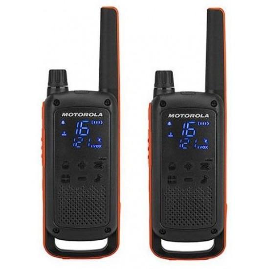 Motorola TALKABOUT T82 BLACK/ORANGE