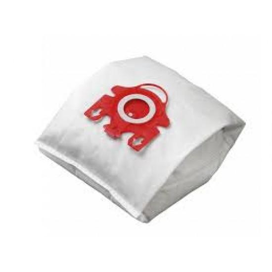 Vrecká do vysávača Miele F,J,M s plastovým čelom textilní, 4ks ML03PL_KRA