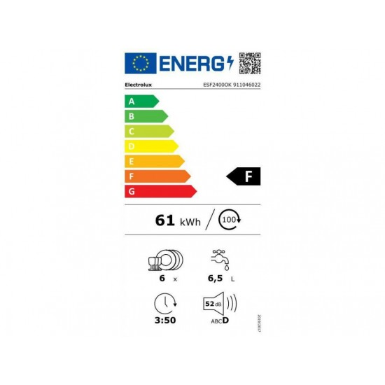 Electrolux ESF 2400OK
