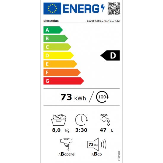 ELECTROLUX EW6F428BC
