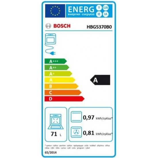 Bosch HBG5370B0