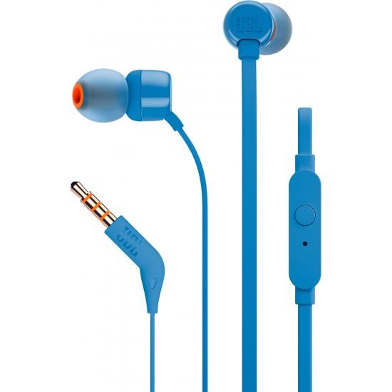 JBL T110 modré