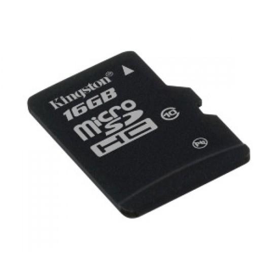 KINGSTON 16GB microSDHC Class 10 bez adaptéru